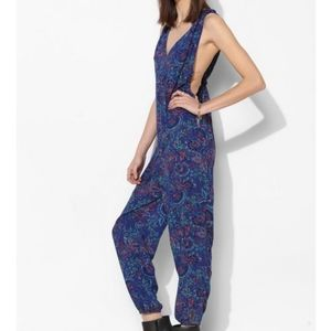 Urban Outfitters Ecote Cross-Back Jumpsuit
